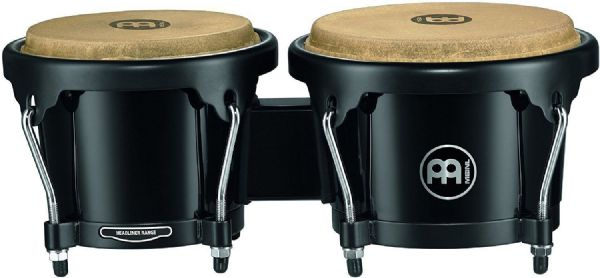 Meinl Percussion 6 1/2-inch and 7 1/2-inch Bongo - Black - HB50BK